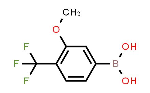 3-methoxy-4-(trifluoromethyl)phenylboronic acid
