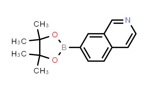 7-(4,4,5,5-tetramethyl-1,3,2-dioxaborolan-2-yl)isoquinoline
