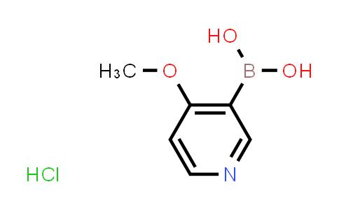 BP24754 | 874959-97-4 | 4-methoxypyridin-3-ylboronic acid hydrochloride