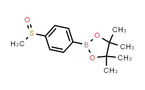 BP24756 | 1016641-70-5 | 4,4,5,5-tetramethyl-2-(4-(methylsulfinyl)phenyl)-1,3,2-dioxaborolane