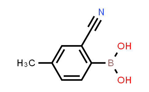 BP24762 | 1328882-30-9 | (2-Cyano-4-methylphenyl)boronic acid
