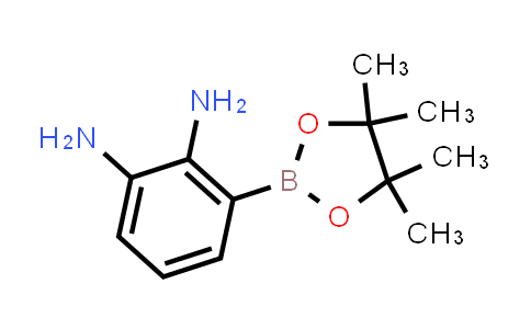 3-(4,4,5,5-Tetramethyl-[1,3,2]dioxaborolan-2-yl)-benzene-1,2-diamine