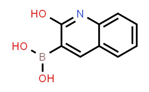 (2-Hydroxyquinolin-3-yl)boronic acid