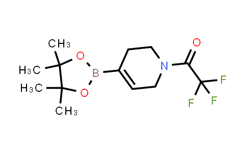 2,2,2-trifluoro-1-(4-(4,4,5,5-tetraMethyl-1,3,2-dioxaborolan-2-yl)-5,6-dihydropyridin-1(2H)-yl)ethanone