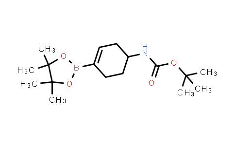 BP24783 | 1251732-64-5 | Tert-butyl 4-(4,4,5,5-tetramethyl-1,3,2-dioxaborolan-2-yl)cyclohex-3-enylcarbamate