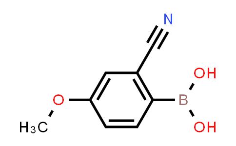 BP24790 | 1233968-22-3 | 2-Cyano-4-methoxyphenylboronic Acid