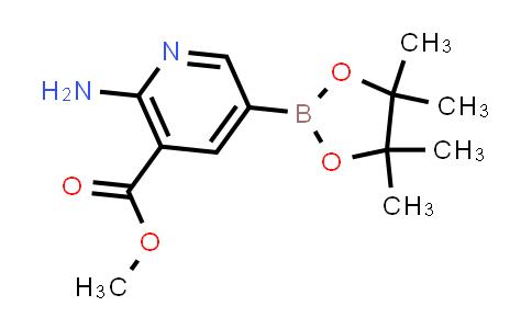 BP24795 | 947249-44-7 | METHYL 2-AMINO-5-(4,4,5,5-TETRAMETHYL-1,3,2-DIOXABOROLAN-2-YL)NICOTINATE