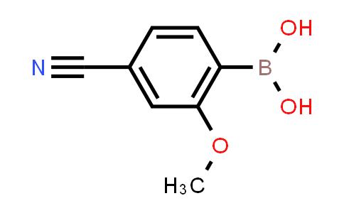 BP24807 | 1256345-67-1 | (4-Cyano-2-methoxyphenyl)boronic acid