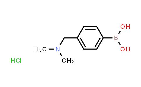BP24813 | 938465-64-6 | (4-((Dimethylamino)methyl)phenyl)boronic acid hydrochloride
