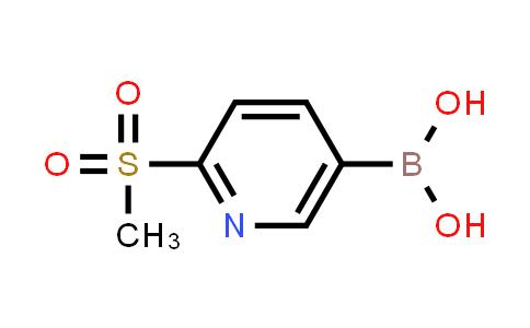 BP24822 | 1088496-41-6 | 2-(Methylsulfonyl)pyridine-5-boronic acid