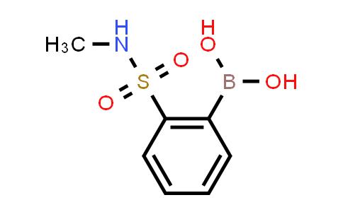 (2-[(METHYLAMINO)SULFONYL]PHENYL)BORONIC ACID