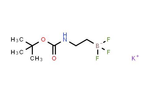 POTASSIUM TERT-BUTYL N-[2-(TRIFLUOROBORANUIDYL)ETHYL]CARBAMATE