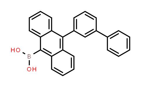 (10-([1,1'-biphenyl]-3-yl)anthracen-9-yl)boronic acid