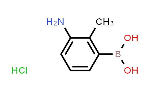 (3-amino-2-methylphenyl)boronic acid hydrochloride