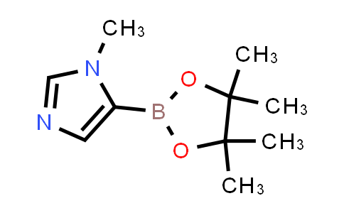 1-Methyl-5-(4,4,5,5-tetramethyl-1,3,2-dioxaborolan-2-yl)imidazole