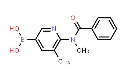 [6-[benzoyl(methyl)amino]-5-methyl-3-pyridyl]boronic acid