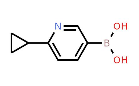 BP24863 | 1253055-87-6 | 6-Cyclopropylpyridine-3-boronic acid