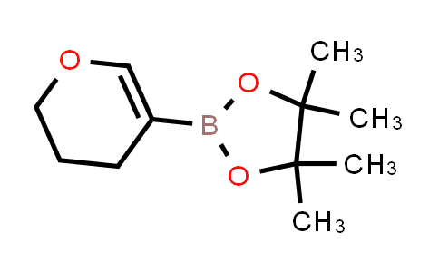 2-(3,4-Dihydro-2H-pyran-5-yl)-4,4,5,5-tetramethyl-1,3,2-dioxaborolane