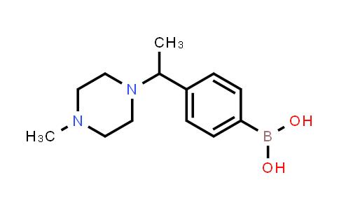 (4-(1-(4-methylpiperazin-1-yl)ethyl)phenyl)boronic acid