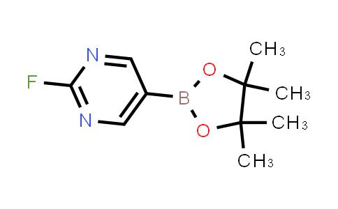 2-FLUOROPYRIMIDINE-5-BORONIC ACID PINACOL ESTER