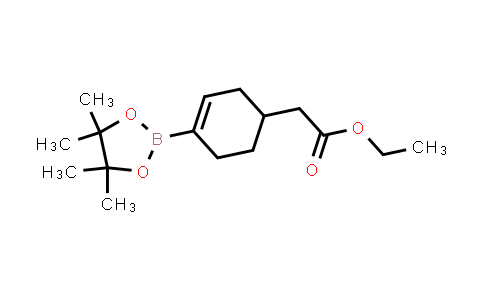 ETHYL 2-(4-(4,4,5,5-TETRAMETHYL-1,3,2-DIOXABOROLAN-2-YL)CYCLOHEX-3-ENYL)ACETATE