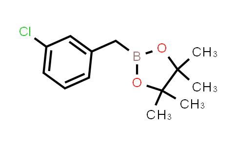 BP24917 | 517920-59-1 | 2-(3-CHLOROBENZYL)-4,4,5,5-TETRAMETHYL-1,3,2-DIOXABOROLANE