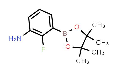 2-FLUORO-3-(4,4,5,5-TETRAMETHYL-1,3,2-DIOXABOROLAN-2-YL)ANILINE