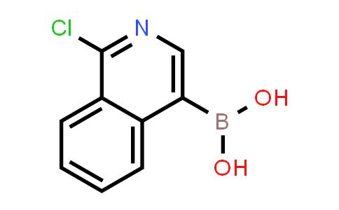 1-Chloro-4-isoquinolinylboronicacid