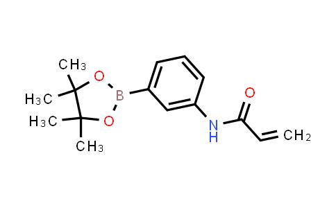 2-PROPENAMIDE, N-[3-(4,4,5,5-TETRAMETHYL-1,3,2-DIOXABOROLAN-2-YL)PHENYL]-