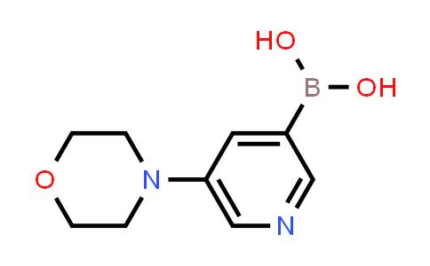 BP24937 | 1215107-26-8 | 5-MORPHOLINOPYRIDIN-3-YLBORONIC ACID
