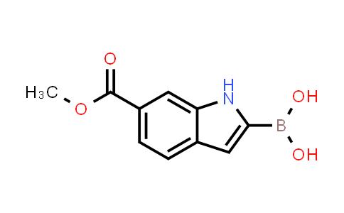 6-(METHOXYCARBONYL)INDOLE-2-BORONIC ACID