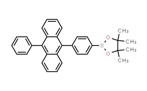 4,4,5,5-tetramethyl-2-[4-(10-phenyl-9-anthracenyl)phenyl]-1,3 2-dioxaborolane