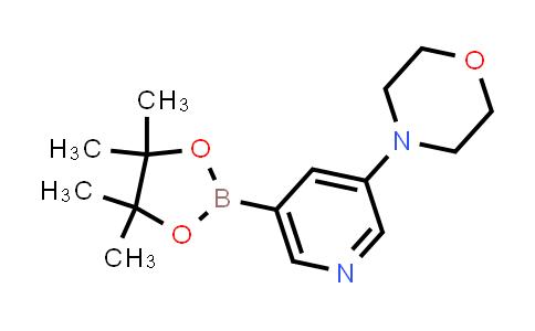 4-(5-(4,4,5,5-TETRAMETHYL-1,3,2-DIOXABOROLAN-2-YL)PYRIDIN-3-YL)MORPHOLINE