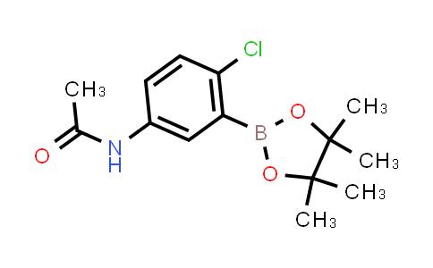 BP24954 | 1218789-92-4 | N-(4-CHLORO-3-(4,4,5,5-TETRAMETHYL-1,3,2-DIOXABOROLAN-2-YL)PHENYL)ACETAMIDE