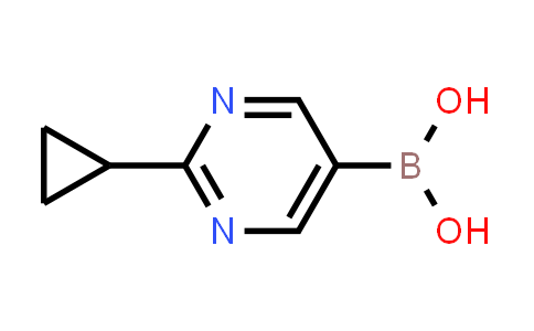 2-(Cyclopropyl)Pyrimidine-5-Boronic Acid