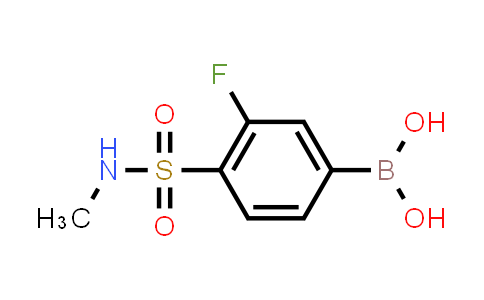 (3-fluoro-4-(N-methylsulfamoyl)phenyl)boronic acid