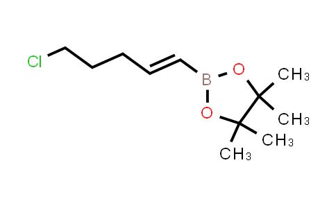 TRANS-5-CHLORO-1-PENTEN-1-YLBORONIC ACID PINACOL ESTER