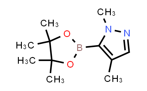 BP24976 | 1047644-76-7 | 1,4-DiMethyl-5-(4,4,5,5-tetraMethyl-1,3,2-dioxaborolan-2-yl)-1H-pyrazole