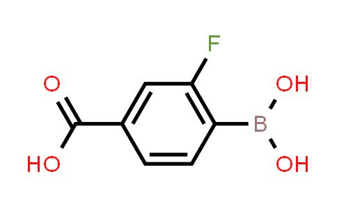 2-fluoro-4-Carboxyphenylboronic acid