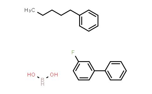 4-Pentylbenzene-3'-Fluorobiphenyl boronic acid