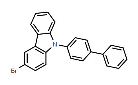 9-[1,1'-Biphenyl-4-yl]-3-bromo-9H-carbazole