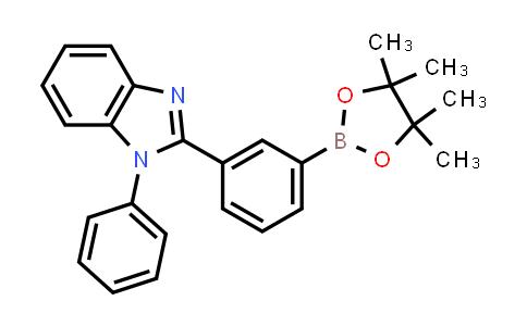 1-Phenyl-2-[3-(4,4,5,5-tetramethyl-1,3,2-dioxaborolan-2-yl)phenyl]-1H-benzimidazole