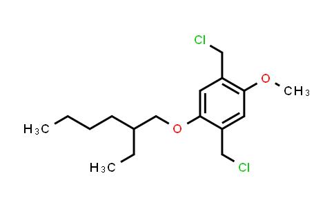 2,5-Bis(chloromethyl)-1-methoxy-4-(2-ethylhexyloxy)benzene