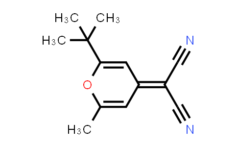 2-(2-tert-Butyl-6-methylpyran-4-ylidene)malononitrile