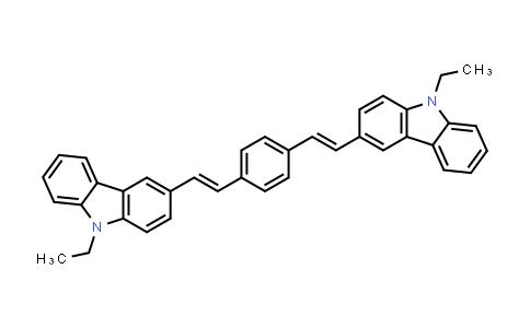 3,3'-(1,4-Phenylenedi-2,1-ethenediyl)bis(9-ethyl-9H-carbazole)