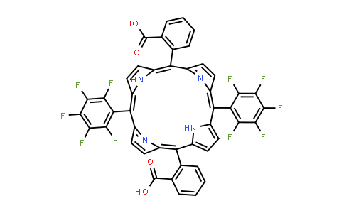 BP25138 | 5,15-di(Pentafluorophenyl)-10,20-di(2-carboxyphenyl) porphine