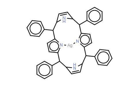 Ag(II) meso-Tetraphenylporphine