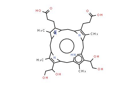 Deuteroporphyrin IX 2,4 bis ethylene glycol