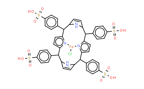 BP25214 | 90384-82-0 | Fe(III) meso-Tetra(4-sulfonatophenyl)porphine chloride (acid form)