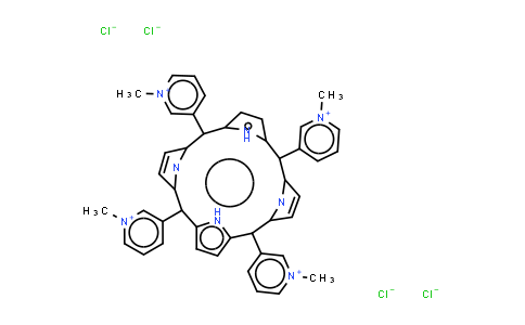 BP25263 | 94343-62-1 | meso-Tetra (N-methyl-3-pyridyl) porphine tetrachloride